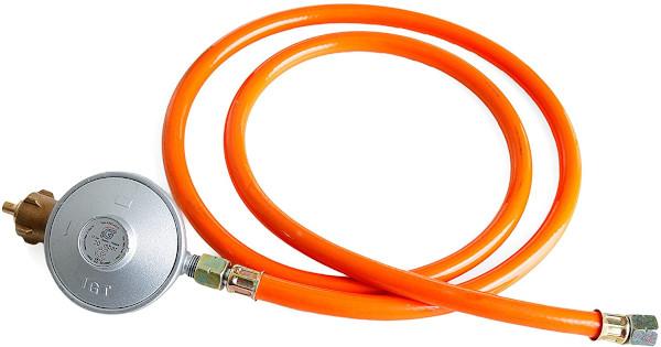 orangener Gasdruckminderer 50 mbar